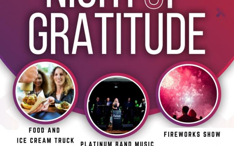 Poster of Info about concert and fireworks