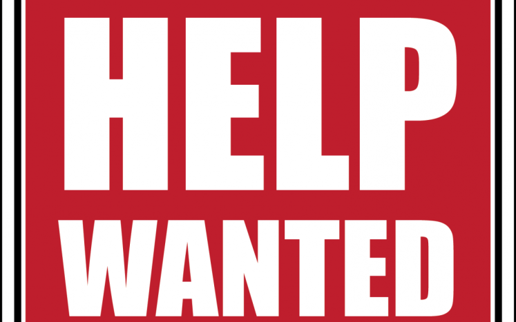 Sign with Help Wanted